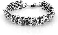 D&D Dazzling Shine Alloy Silver Plated Bracelet