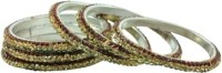 Aakshi Dulhan Hum Le Jayenge Metal, Alloy Bangle Set (Pack Of 6)