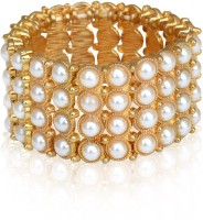 The Pari Designer Alloy Rose Gold Plated Bracelet