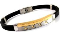 Ammvi Creations Brush Finish Arrow Design Elegant For Men Stainless Steel Bracelet