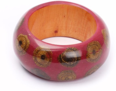 KhoobSurati Virile Chic Wood Bangle