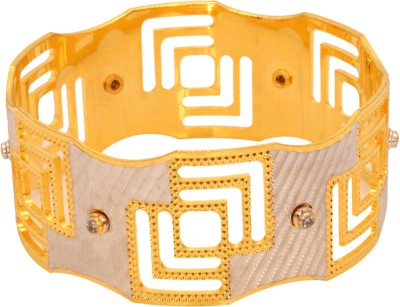 Vendee Fashion Multi Square Brass Bangle