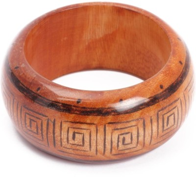 KhoobSurati Crazy Chic Wood Bangle