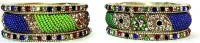 Aadhya B01_1 Brass, Alloy, Lac, Stone Bangle Set (Pack Of 6)