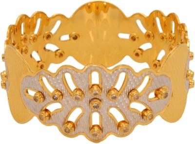 Vendee Fashion Unique Designer Brass Bangle