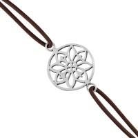 925 Silver Floral Stylish Rakhi Silver Silver Plated Bracelet