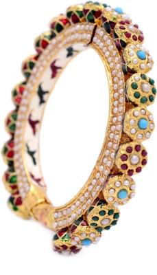 f754d2578fc343 Hyderabad Jewels Copper, Silver Bangle for Rs. 1,160 at Flipkart