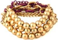 Jewelizer Fashion Alloy Rose Gold Plated Bracelet