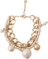 Super Drool The Pearl Shimmer Alloy Charm Bracelet