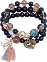 Super Drool Beads Of Love Metal Charm Bracelet