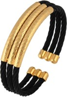 The Jewelbox Stainless Steel Yellow Gold Cuff