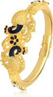 VK Jewels Dual Mayur Alloy 18K Yellow Gold Plated Kada