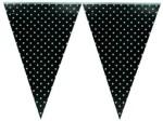 Smartcraft Polka Dotted Flag Black