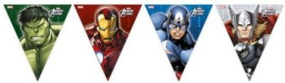 Marvel Avengers Multi Heroes Triangle Flag