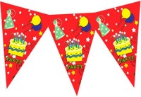 Planet Jashn Planet Jashn Happy Birthday Party Buntings Pennant Flag (8 Ft, Pack Of 1)