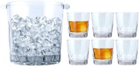 Vola Trilogy (Ice-Bucket + Glasses) 7 - Piece Bar Set (Glass)