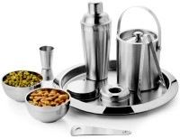 King Traders 15 - Piece Bar Set (Stainless Steel)