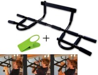 Ibs Heavy-Duty Easy Gym Doorway Chin-Up Pull Wall Mount Height Increaser Hanging Exercising Home Workout Iron Gym BicepsTriceps Cruncher Chin-up Bar