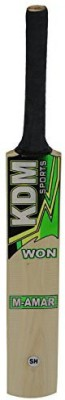 KDM Sports M Amar Poplar Willow Cricket  Bat (Short Handle, 1200 g)
