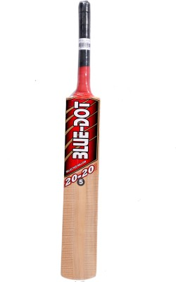 Blue Dot Leather No.5 K.W. Kashmir Willow Cricket  Bat (5, 990 g)