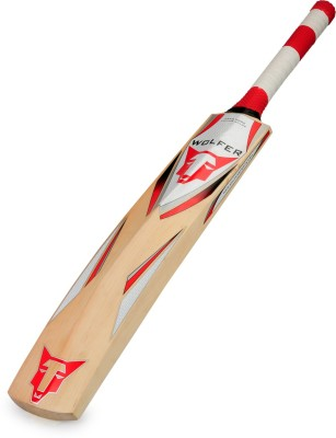 Wolfer Liger Kashmir Willow Cricket  Bat (Short Handle, 1000-1300 g)