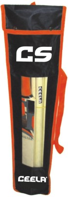 Ceela Sports Junior Poplar Willow Cricket  Bat (1, 300-400 g)