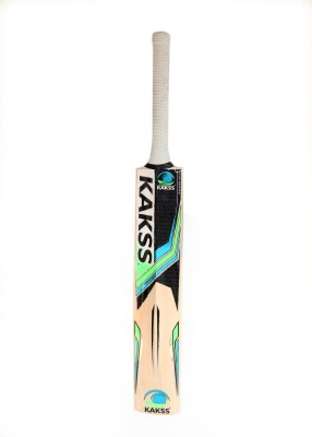 Kakss Bronco II English Willow Cricket  Bat (Long Handle, 1100-1250 g)