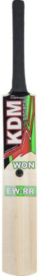 KDM Sports EW-RR Poplar Willow Cricket  Bat (Long Handle, 1300 g)