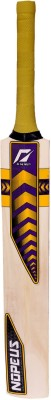 NOPEUS CHOPPER PRO 3 PURPLE YELLOW Poplar Willow Cricket  Bat (3, 750 g)