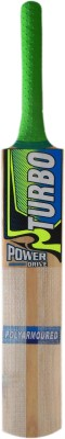 TURBO POWER DRIVE (THICK BLADE) Poplar Willow Cricket  Bat (Short Handle, 1000 - 1050 g)