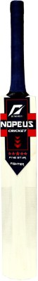 NOPEUS BLUE RED FIGHTER Poplar Willow Cricket  Bat (6, 1050 g)