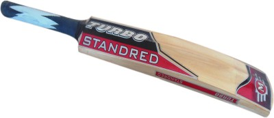 TURBO STANDRED (THICK BLADE) Poplar Willow Cricket  Bat (Short Handle, 1000 - 1050 g)