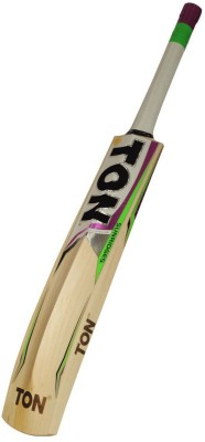 TON GUTSY English Willow Cricket  Bat (Short Handle, 1180-1270 g)