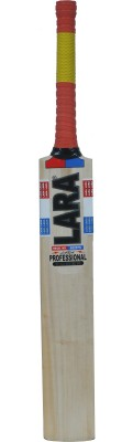 LARA PROFESSIONAL Kashmir Willow Cricket  Bat (33 inch, 1100-1250 g)