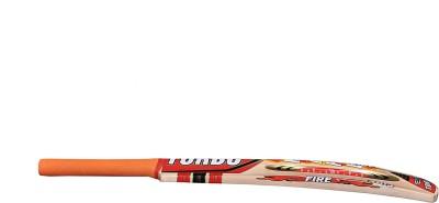 TURBO FIRE Poplar Willow Cricket  Bat (Short Handle, 1000 - 1050 g)