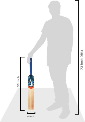 Nike Drive Kashmir Willow Cricket  Bat (Harrow, 1100 g)
