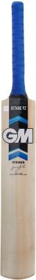 GM OCTANE F2 Striker Kashmir Willow Cricket  Bat (Long Handle, 1200 - 1400 g)