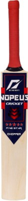 NOPEUS CHOPPER PRO SIZE 0 BLUE RED Poplar Willow Cricket  Bat (Harrow, 450 g)