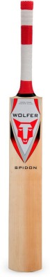 Wolfer Spidon Kashmir Willow Cricket  Bat (Short Handle, 1000-1300 g)