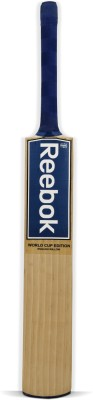 Reebok World Cup Edition English Willow Cricket  Bat (Long Handle, 1100 - 1250 g)