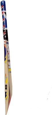 BDM Ruff Tuff Kashmir Willow Cricket  Bat (Short Handle, 1200-1220 g)
