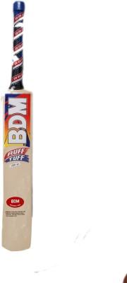 BDM Ruff Tuff Kashmir Willow Cricket  Bat (Short Handle, 1200-1220 g)