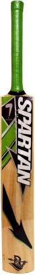 Spartan MSD Run Kashmir Willow Cricket  Bat (Short Handle, 1000 g)