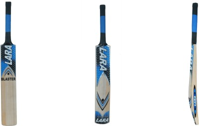 Lara Blaster Kashmir Willow Cricket  Bat (Short Handle, 1200.1250 g)