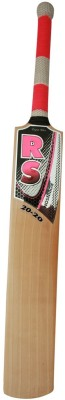 RS Robinson 20-20 English Willow Cricket  Bat (Short Handle, 1050-1050 g)