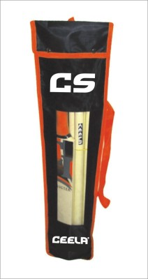 Ceela Sports Wooden Set Poplar Willow Cricket  Bat (6, 700-800 g)