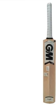 GM Icon Maestro Kashmir Willow Cricket  Bat (Short Handle, 400-616 g)