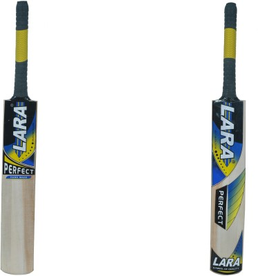 Lara Perfect Kashmir Willow Cricket  Bat (Short Handle, 1200-1250 g)