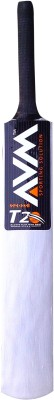 AVM Splash 20-20 Silver size-5 Willow Cricket  Bat (5, 900-1000 g)