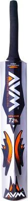 AVM Splash 20-20 Silver size-5 Willow Cricket  Bat (5, 900-1000 g)